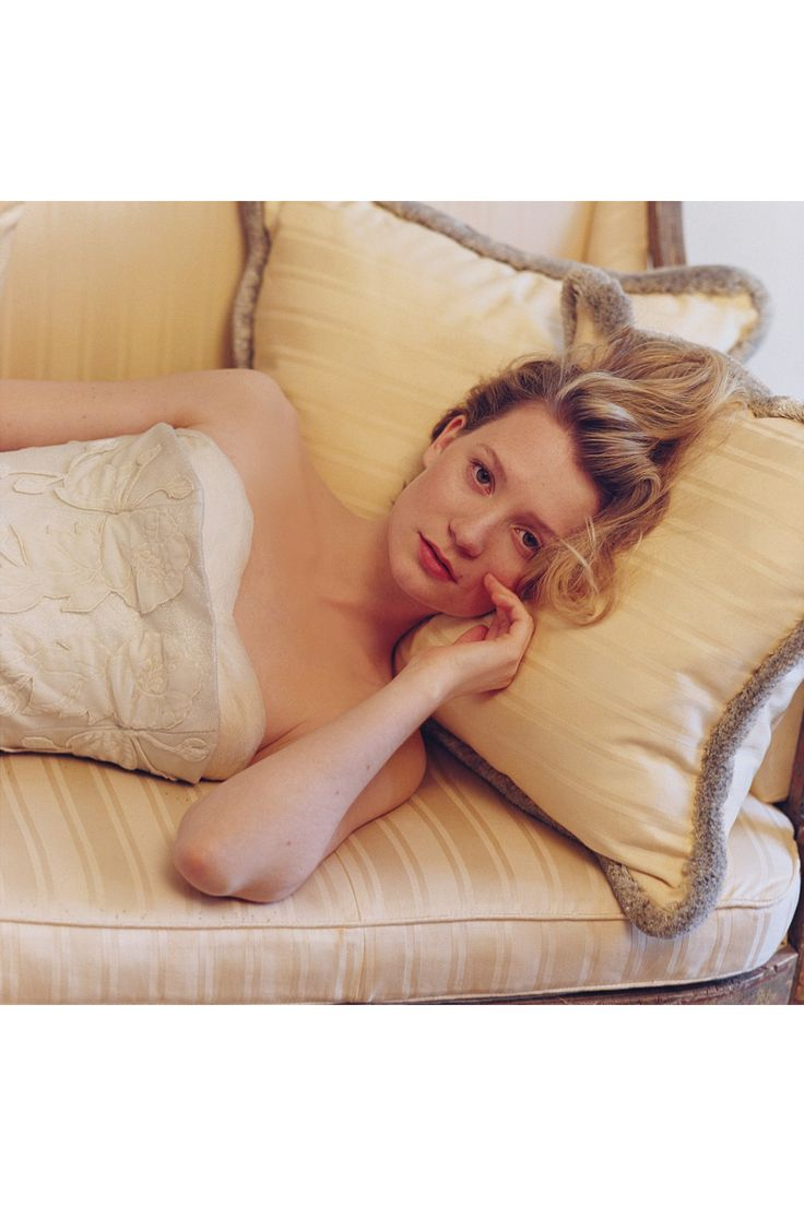 Mia Wasikowska Interview - Tracks and The Double (Vogue.com UK)