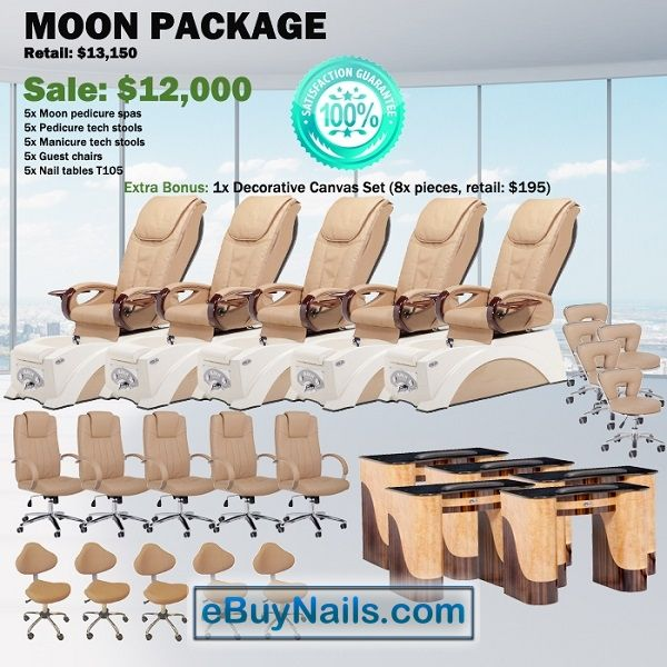 Moon Spa Pedicure Chair Package – Free shipping - $11500 https://www.ebuynails.com/shop/moon-spa-pedicure-chair-package-free-shipping/ #pedicurespa#pedicurechair#pedispa#pedichair#spachair#ghespa#chairspa#spapedicurechair#chairpedicure#massagespa#massagepedicure#ghematxa#ghelamchan#bonlamchan#ghenail#nail#manicure#pedicure#spasalon#nailsalon#spanail#nailspa#massagechair