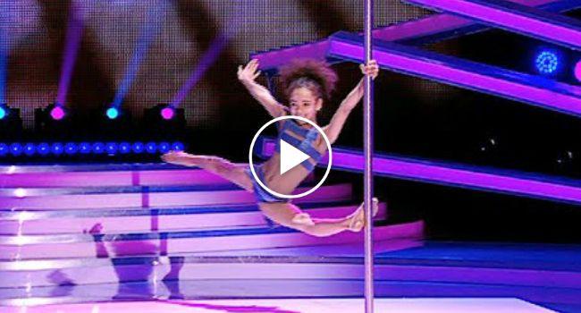 Menina De 8 Anos Tem Extraordinário Desempenho Com Dança Do Varão