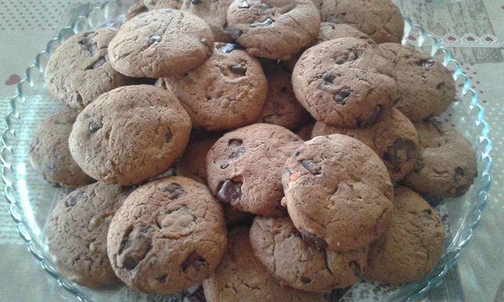 Cookies με σοκολάτα και πορτοκάλι!!!