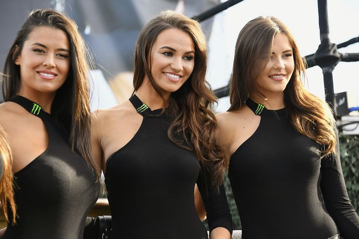Grid Girls of 2016