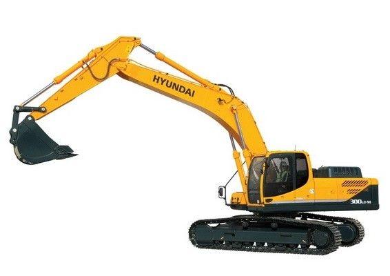 Hyundai R300lc 9sh Crawler Excavator Service Manual Hyundai Excavator Construction Equipment