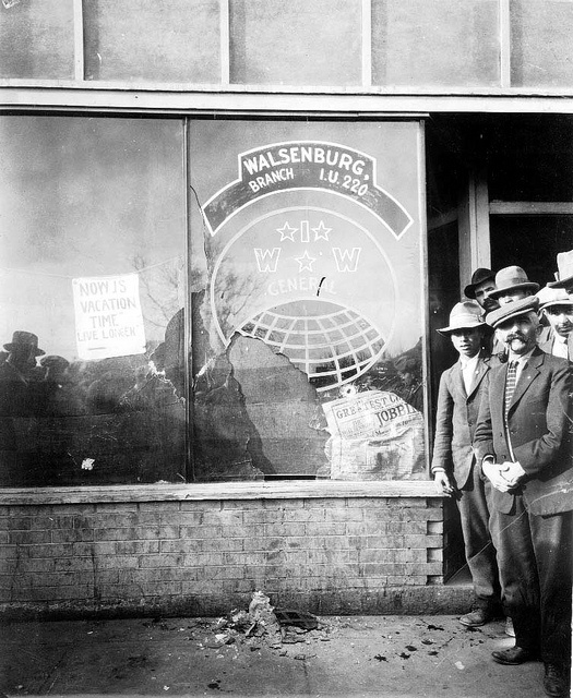 Walsenburg IWW Hall, Post-raid, Walsenburg, Colorado