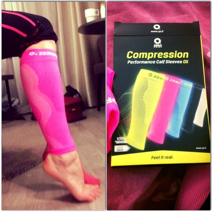 Yesterday I tried my new Compression Calf Sleeves from Zeropoint while working out. It felt really good! I have had problems with hernia on my left leg so I have tried to use normal compression socks during my workouts, but I feel that they get really tight and somehow decrease the blood flow to the legs when the muscles get pumped and swollen instead of increasing it. These calf sleeves on the other hand are developed for athletes to use during exercise. I really felt a big difference!