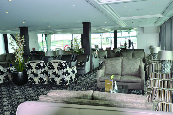 AmaWaterways - Panoramic Lounge aboard AmaBella