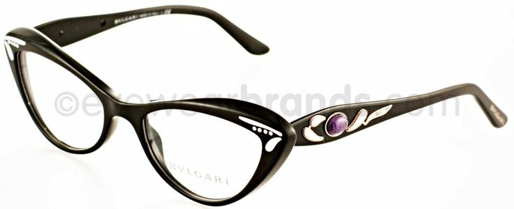 Kate Spade Petite Eyeglass Frames : Bvlgari BV 4052B - 501 BLACK Occhiali//Lunettes/oculos ...