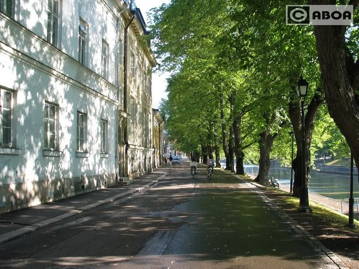 Turku, riverside
