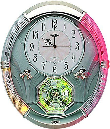 Special Offers - Rhythm Clocks Amazing Carina  Model #4MH785WD18 - In stock & Free Shipping. You can save more money! Check It (July 20 2016 at 09:55AM) >> http://wallclockusa.net/rhythm-clocks-amazing-carina-model-4mh785wd18/