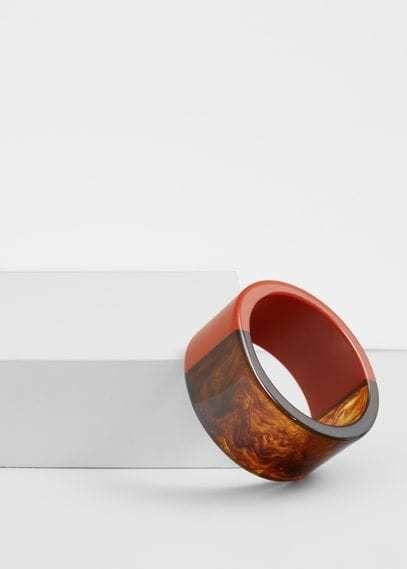 Mango Outlet Rigid bracelet