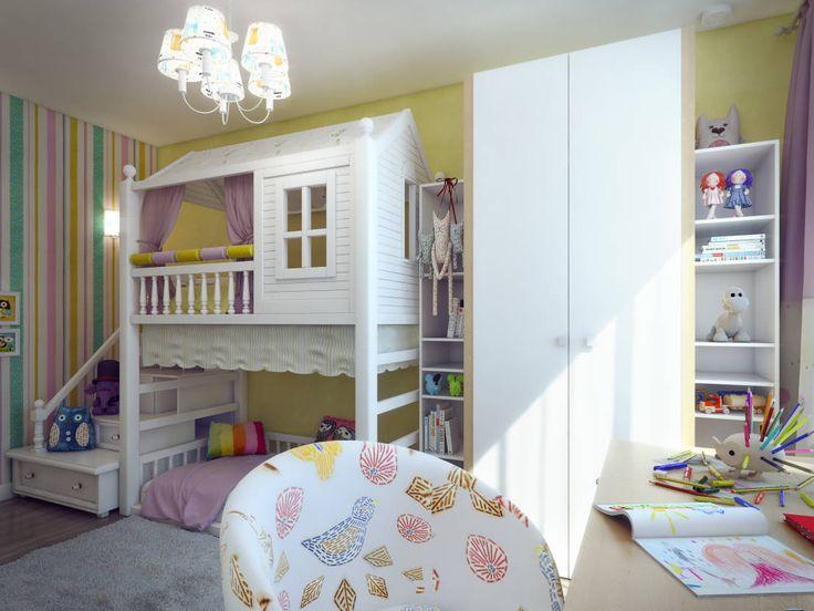 Детская для девочки : Eklektik Çocuk Odası Details, design studio