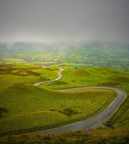 The Peak District, England,