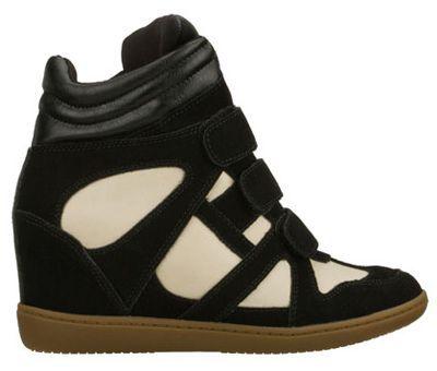 "Wedge Sneakers | Skechers SKCH Plus 3 ""Raise Your Glass"" Wedge Sneakers in black and ..."