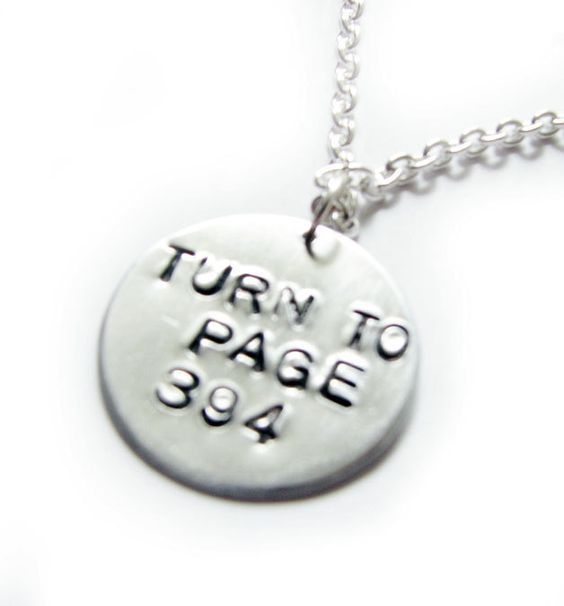 Turn to Page 394 Harry Potter Necklace