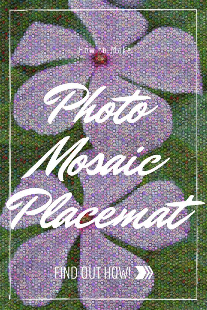 25+ best ideas about Photo mosaic on Pinterest | Mosaic garden art ...