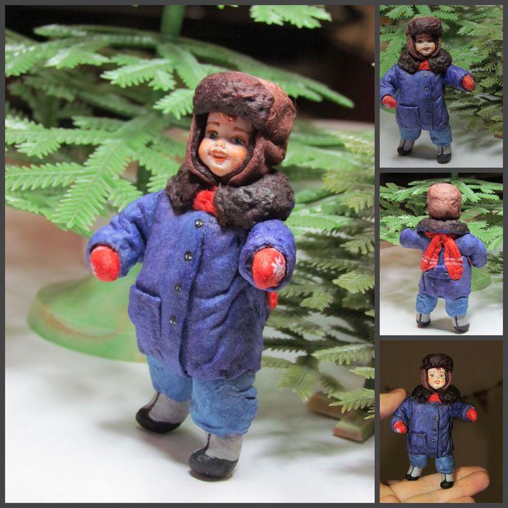 Дорогие Друзья! Приглашаем Вас на Мастер-класс Елены Шведовой по елочной игрушке из ваты.