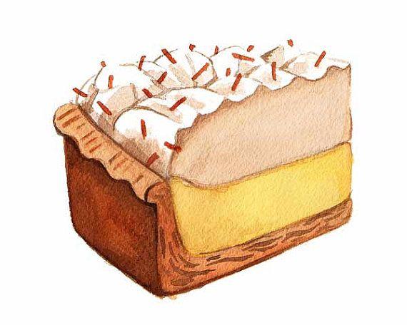 Coconut Cream Pie Slice by Alicia Severson