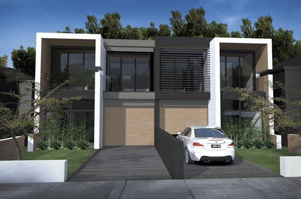 Arkhaus Studio- Dual Occupancy - duplex. Roselands, NSW. Facade.
