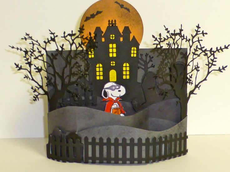 Snoopy's Halloween... I don't like anything about Halloween but this is so cute and clever