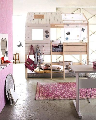 Great loft bed or playhouse.                                                                                                                                                                                 More