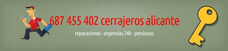 "http://cerrajeria24.es/   ""cerrajero alicante"" ""cerrajeros en alicante"" ""cerrajero urgente alicante"""