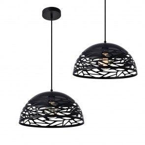 [lux. Pro] Design Lampada a sospensione con motivi in nero   46,30 €