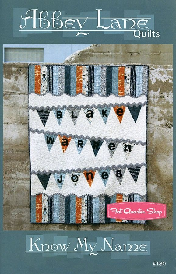 25 best Name Quilts images on Pinterest | Baby blankets, Baby crib ... : quilt shop names - Adamdwight.com