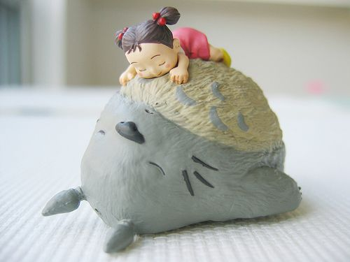Thank you for your follow sincerelyedmund and fattjayy! I hope you've been getting restful sleep like Mei and Totoro do. If not, I urge you to take a nap now. I might take one actually…
