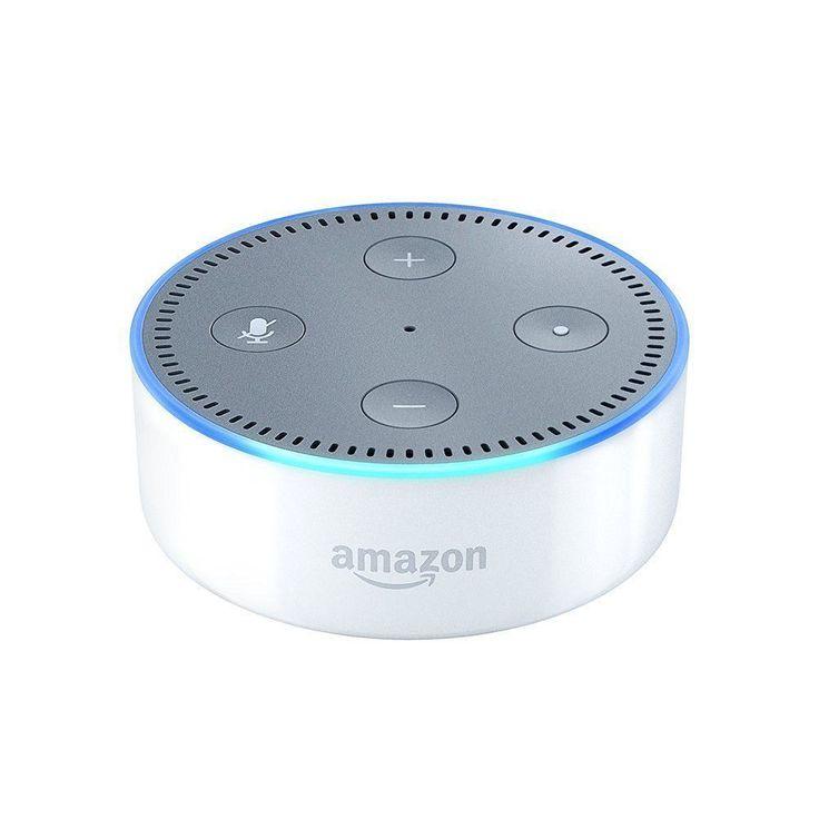 ALL-NEW 2016 Amazon Echo DOT Alexa White 2nd Generation Preorder  #Amazon