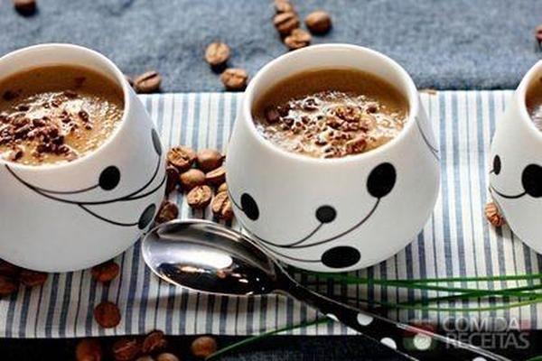 Receita de Creme de cogumelo com café - Comida e Receitas