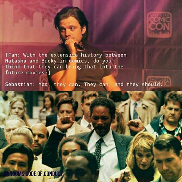 Winterwidow/BuckyNat + Sebastian Stan + The Pursuit of Happyness || (Edit owned by Miriam Hannah Robinson)