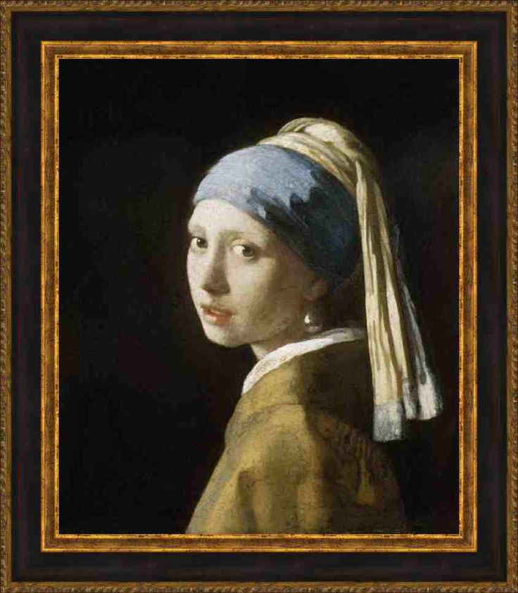 Vermeer - Head of a Girl | Framing Perfection
