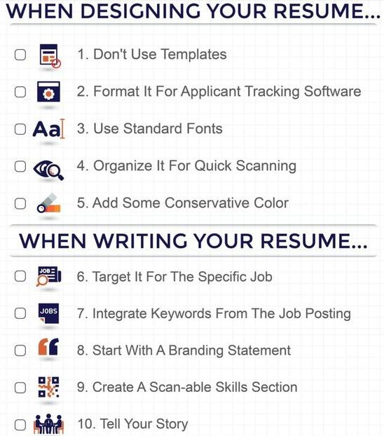 45 best Recruitment images on Pinterest Dream job, Job search and - 5 resume writing tips