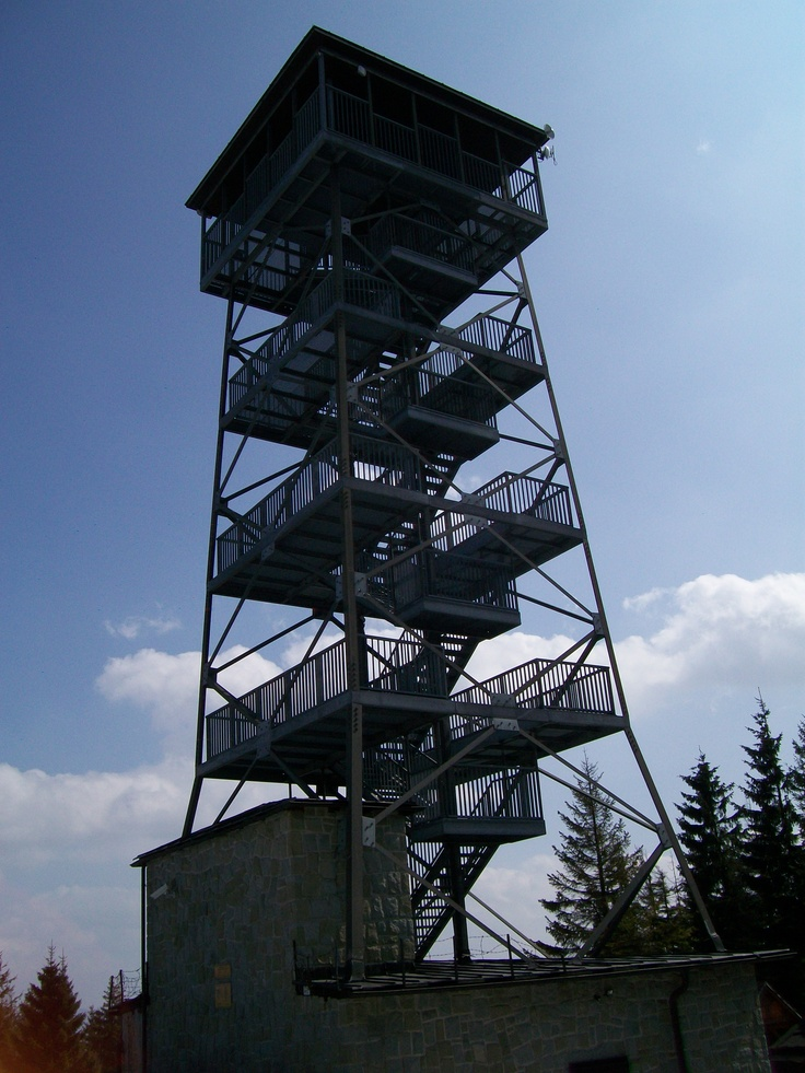 "Watchtower - Velka Cantoryje #mountains 49°40'43.269""N, 18°48'16.550""E"