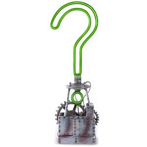 ThinkGeek :: Batman Arkham City Riddler Trophy Replica