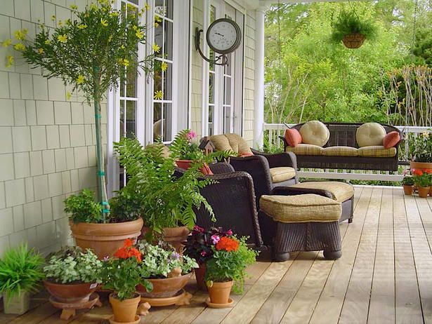 Coastal Comfort - Porches We Love From Rate My Space on HGTV
