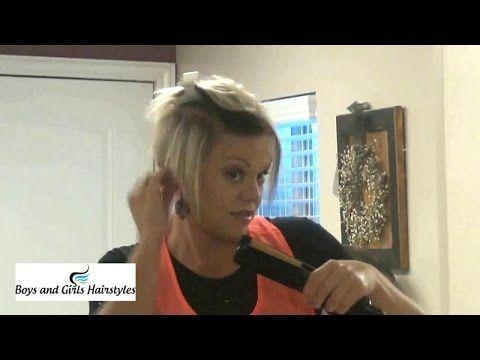 Popular Short Hairstyles | Latest Short Hairstyles Tutorial - YouTube