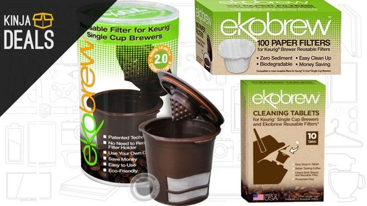 Buy a Refillable K-Cup For $10, Get Filters and Cleaning Tablets For Free
