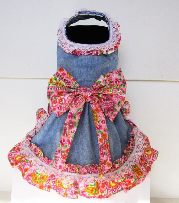 I lovr this and can't wait to get. I found this really awesome Etsy listing at https://www.etsy.com/listing/12988214/dog-dress-puppy-clothes-denim-and-lace