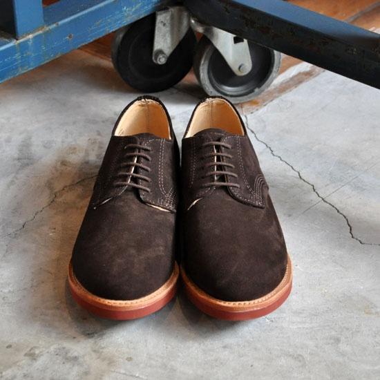 WALK-OVERのderby shoe買ってしまいました.本当にかっこいいな~!