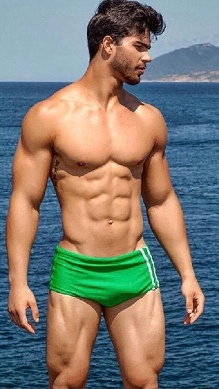 Victor Montalvo Fernandes  Green  Hot Guys, Shirtless -2697