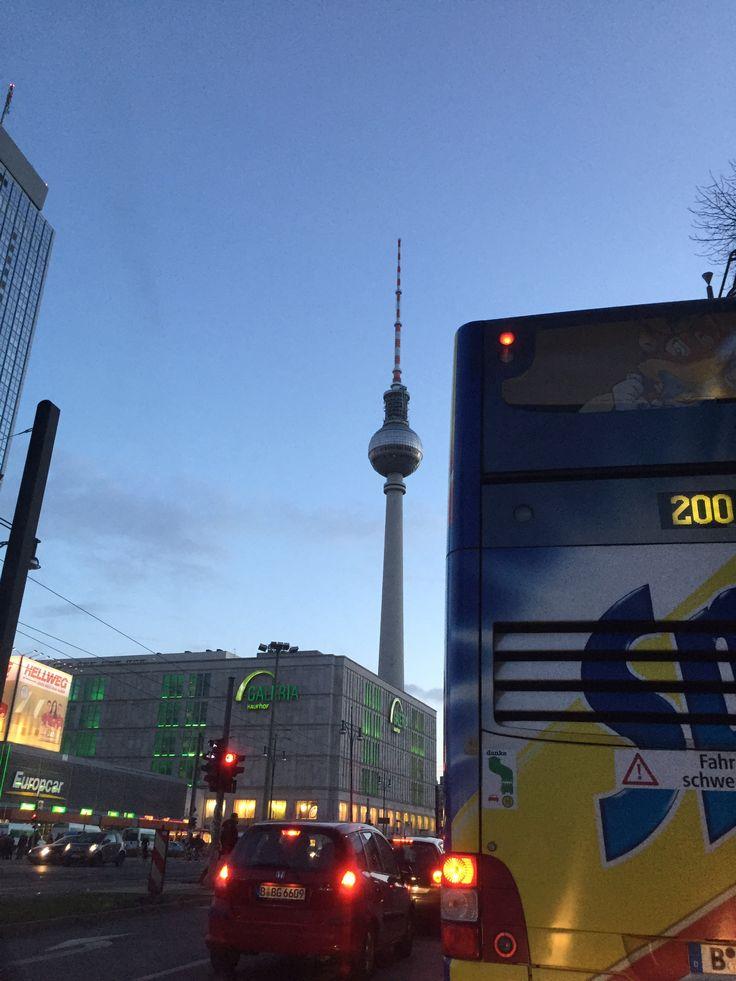 Aftenstemning i Berlin