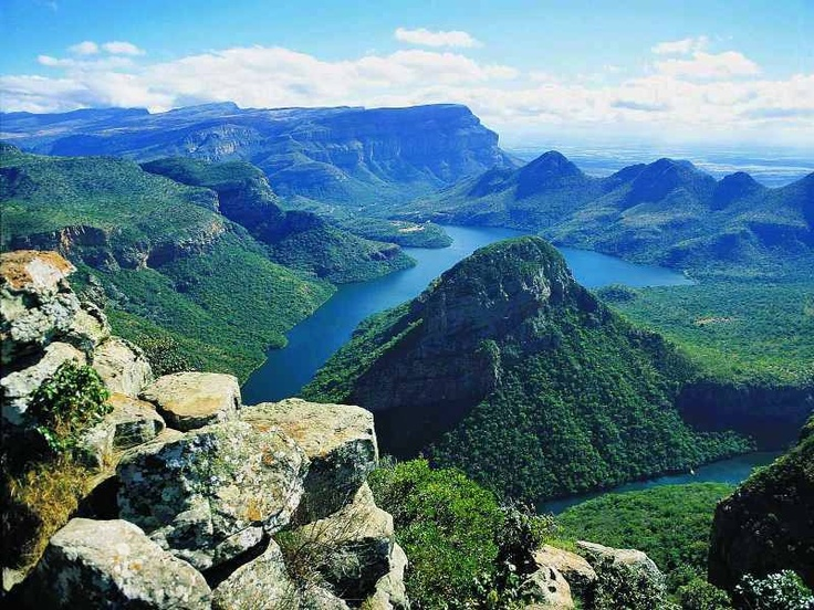 God's Window at Blyde River Canyon (near Kruger)