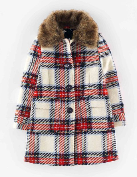 Heritage check coat 35129 coats at boden pretty and for Mini boden winter 2016