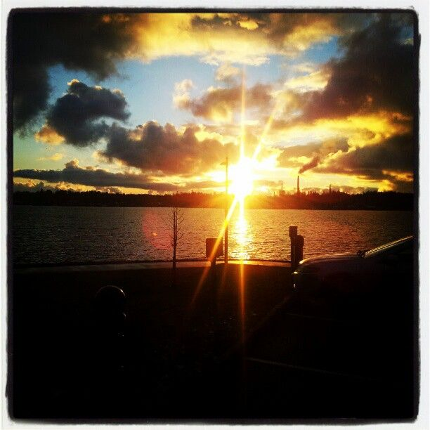 """Beautiful sunset at Vaasa"", photographer: teemu24"