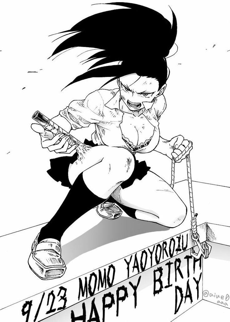 Boku no Hero Academia    Momo Yaoyorozu
