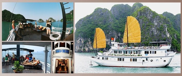 - Ha Long - Cat Ba island, every day in small group. - Ha Long 2 days on Vega Cruise.