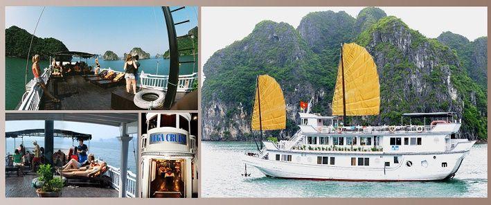 - Ha Long - Cat Ba island, every day in small group. - Ha Long 2 days on Vega Cruise.