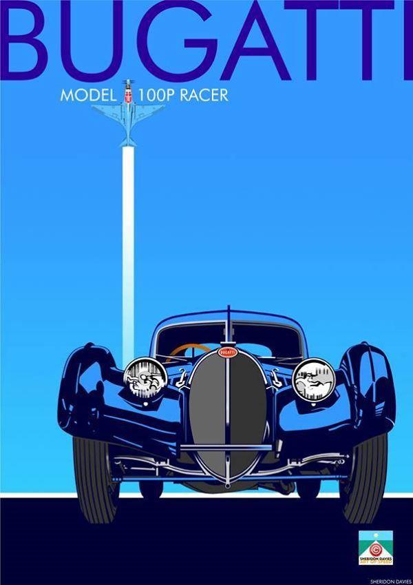 Bugatti 100P Racer.