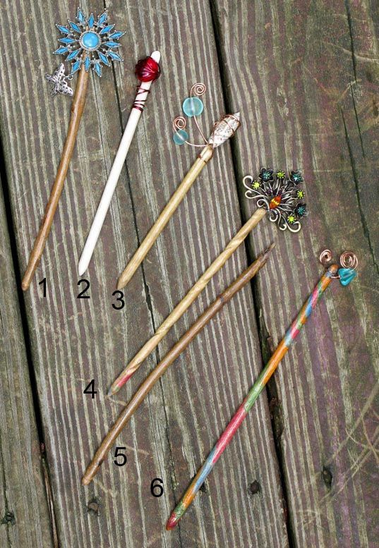 Make your own shawl pins :-)                              …