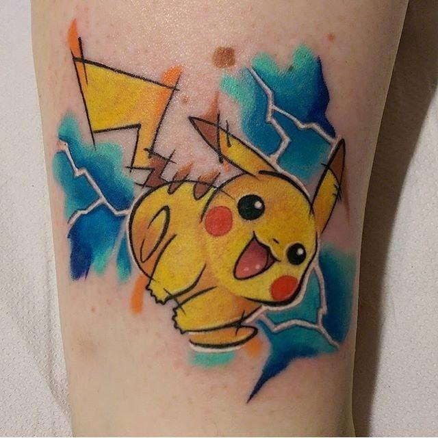 Já pensou em carregar o Pikachu, o Bulbasaur ou o Jigglypuff para sempre na sua pele?